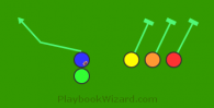 Statue Of Liberty is a 5 on 5 flag football play