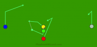 Button hooks escape is a 5 on 5 flag football play