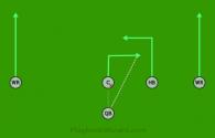 13 is a 5 on 5 flag football play