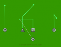Rodeo is a 5 on 5 flag football play