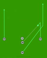 Hook And Lateral is a 5 on 5 flag football play