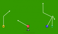 RUSH COUNTER 2 is a 5 on 5 flag football play