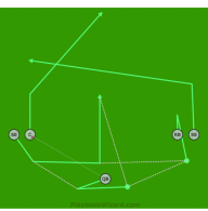 5 On 5 Flag Football Plays Download Playbooks Instantly